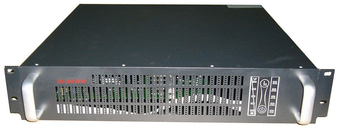 Rack-mounted 3KVA /2100W High frequency online UPS price include freight long backup time type(China (Mainland))