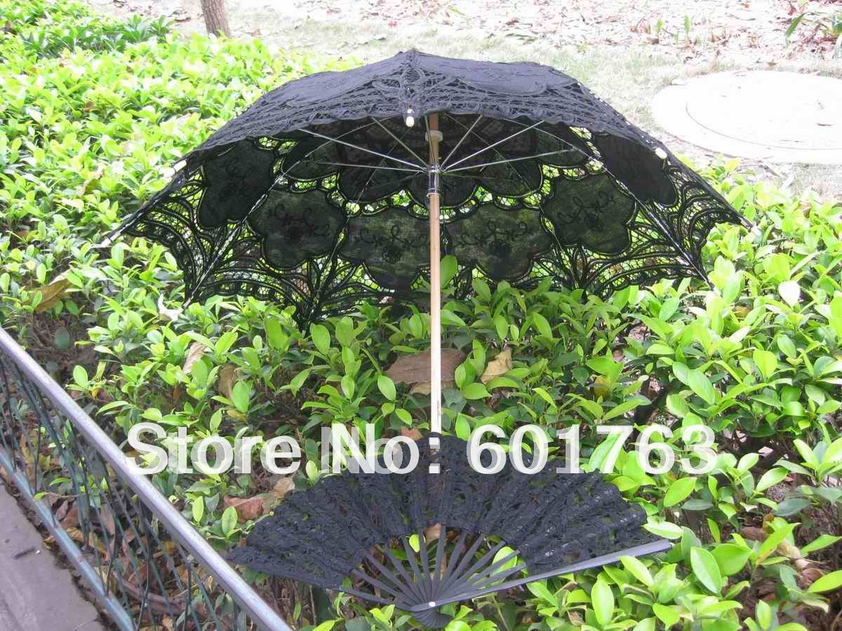 Zwarte kanten paraplu koop goedkope zwarte kanten paraplu loten van chinese zwarte kanten - Zon parasol ...