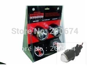 Cheap Shipping, 1year warranty!12V/35W car HID projecter lens +H3 HID bulb 6000K KF-K1004(China (Mainland))