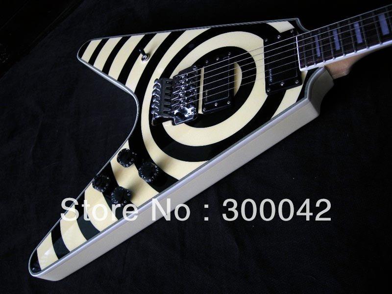 -Edition-Zakk-Wylde-Flying-V-Custom-Electric-Guitar-By-Spring jpgZakk Wylde Flying V Guitar
