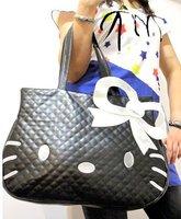 Hello Kitty black BIG tote bag handbag