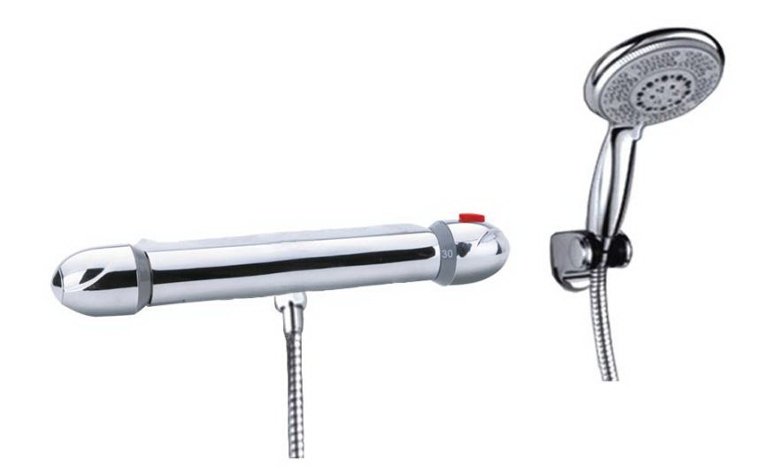 Thermostatic faucet shower set - Wholesale - Free Shipping ( 1009)(China (Mainland))