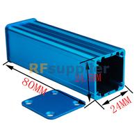Aluminum Project Box Enclousure Case Electronic DIY-Blue 1206