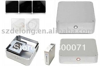whiter aluminium case MINI itx standard HTPC