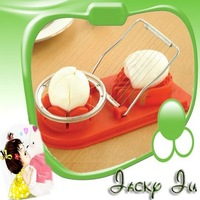 Free Shipping New 2 In 1 Double Egg Mushroom Cheese Slicer Cutter Stainless Steel Wire