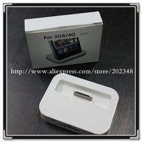 Charger & Hotsync Dock Cradle Dock Charger Desktop SYNC Docking Station for iPhone 3G 3GS 4 4S