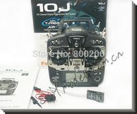 FUTABA 10J & R3008SB Receiver  2.4GHz 10 Channel remote control RC System T-FHSS