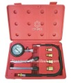 FS2474 Engine Cylinder Compression Tester Kit w/ adapters M10, M12, M14, M18 and case