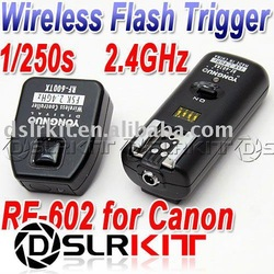 YONGNUO RF-602 2.4GHz Wireless Remote Flash Trigger for CANON(China (Mainland))
