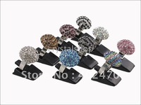 FREE SHIPPING WHOLESALE LOT OF 400 BLACK JEWELLERY RING DISPLAY STANDS