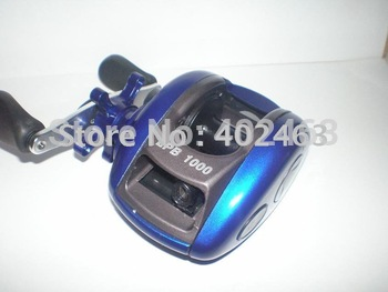 Fishing supplies  Cheap low profile baitcasting fishing reel LPB 1000 GL One-way ball bearing  China Post Air Mail  Or Ups Saver