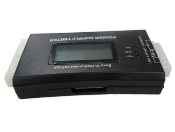 PC ATX BTX ITX HDD SATA 24pin/20pin Power Supply LCD Tester Tool (Plastic case)