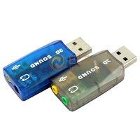 USB 2.0 3D external sound card