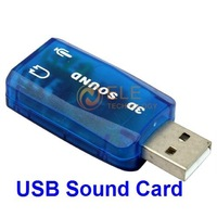 USB 2.0 computer sound card