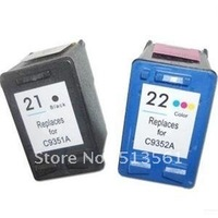 free shipping compatible for hp22 ink cartridge