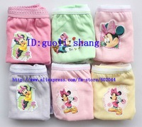 Hot 36pcs Minnie Girl's Cotton Underwear Panties (6 set)+ FREE SHIPPING