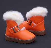 Children Winter Snow Boots Waterproof Kids Boots Four Colors Slip-resistant Kids Shoes Cotton-padded Children Shoes Winter