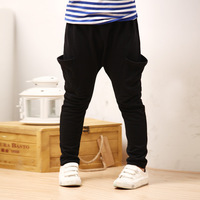 Hot sales boys harem trousers pants 2014 new male child autumn winter 100% cotton school pants children clothing freeshipping