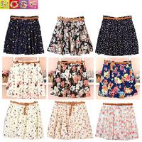 SA Summer 2014 femininas skirt women pleated chiffon slim package hip loose skirt short skirt female bust skirt 19color