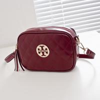 2014 women's fashion handbag trend plaid tassel mini bag one shoulder cross-body messenger bag women's bags