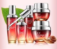 5 IN 1 Skin Care Set Red Ginseng Snail Cream Whitening Moisturizing Anti-aging Cream+Essence+Moisturizer+ Eye Cream+Lotion