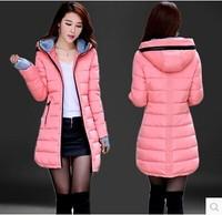 hot-selling women cotton cotton-padded jacket slim medium-long women plus size wadded jacket lady winter down jacket female