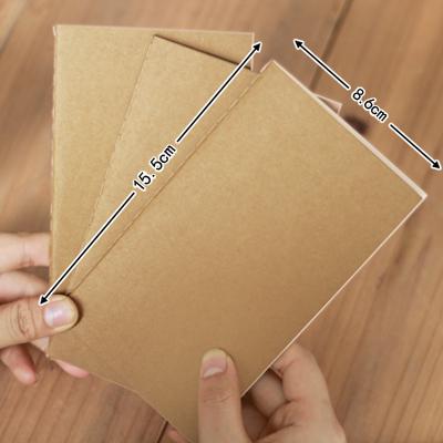Vintage brief cowhide paper small book represatation blank notebook portable notepad(China (Mainland))