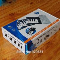 Kid,child new year gift ,educational keyboard instrument multifunctional electronic rolls up mat music piano,organ 49 keys toy
