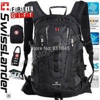 SwissLander Swiss Lander new Laptop backpack women notebook backpacks woman school computer bagback for 15.6 16'' inches laptops