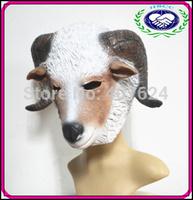 Latex animal head mask goat masquerade masks Animal party Mask free shipping