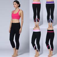 Wholesale Top Quality Yoga Pants Women Colorful Fashion Comfy Pencil Pants Lady's Yoga Leggings Crops Size:XXS-XL