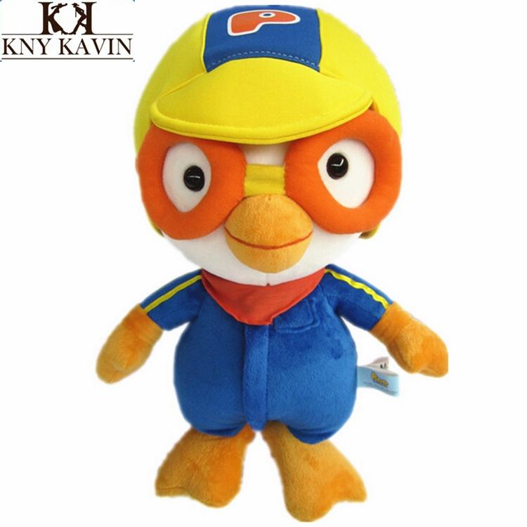 20cm/pcs Kawaii quente Coreia recheada Anime Plush Toys o pinguim Pororo, p