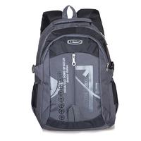Large-capacity black shoulder bag computer travel bag boys in college bag new free shipping