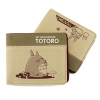 Studio Ghibli My Neighbor Totoro Short Wallet Coins Purses Anime Purses