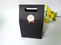 Free Shipping New Arrival Zakka Black Kraft Paper Bag Gift Packing Box,Nut Package bag / DIY Gift Package Paper Box/ 6*10*15.5CM