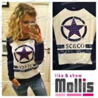 Women Hoody Star Printed Sweatshirt New 2014 Autumn Sport Suit SC&CO Women Casual Hoodies Tracksuits Free Shipping