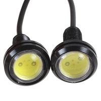 5pairs/lot (10pcs) 12V Ultra-thin Car Eagle Eye Lamp LED Day Running Lights High Power Energy Saving Car LED Reverse Light Lamp