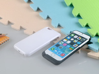 Black White 3800mAh External Power Bank Case Pack Backup Battery Charger Cover for iPhone 6 4.7 , 1pcs SG Free Shipping
