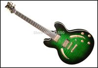 half handmade double pick-up jazz guitar