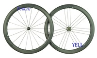 R36 hubs,SUPER Light!3.4 clincer full carbon wheelset,with Titanium QR,Basalt Braking Surface,50mm 700C road bike wheels