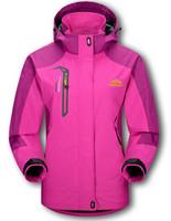 Hot Womens Windstopper Waterproof Softshell Hiking Jackets Spring Autumn Outdoors Sport Jacket Women Windbreaker