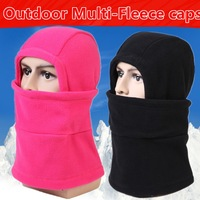 Fashion winter hat for man and woman warm head hat fleece winter face masks protected ear ski mask hats snowboard cap 4 colors