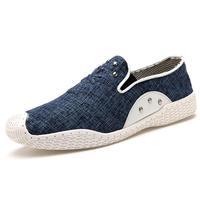 Classic Washing Effects Men Canvas Shoes Eu 39-44 2014 Good Quality Stream Pattern Rivet Decorate Man Denim Fashion Sneakers