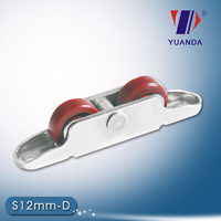Double Roller Bearing Pulley For Sliding Window(S12mm-D)