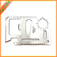 New commingle sharp edge camping tool stainless steel credit card knife camping tool survival knife edc knife