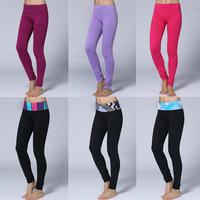 Wholesale Top Quality Yoga Full Pants Women Colorful Fashion Comfy Pencil Pants Lady's Yoga Leggings Size:XXS-XL Free Shipping