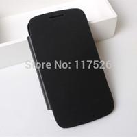 1pcs/lot  PU Flip Leather Back Battery Cover Flip Case for Samsung Galaxy Core I8260 I8262 GT-I8262 8260 8262
