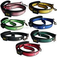 Hot selling the latest style production dog leashes & dog lead LED pet leash, strong nylon dog puppy leash pet dog lead leash
