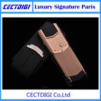 New Arrival  K7+ VIP luxury phone with silver diamon metal body signature CEO 168  Visa screen Russian keyboard Luxury paris