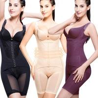 Floral Shapewear Women Bodysuit Body Shaper Waist Trainer Cincher Butt Lifter Training Corsets Waist Slimming